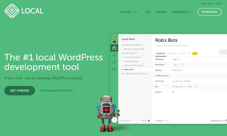 LocalでWordPressをローカル環境に構築
