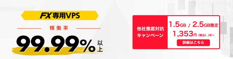お名前.com VPS 他社徹底対抗キャンペーン
